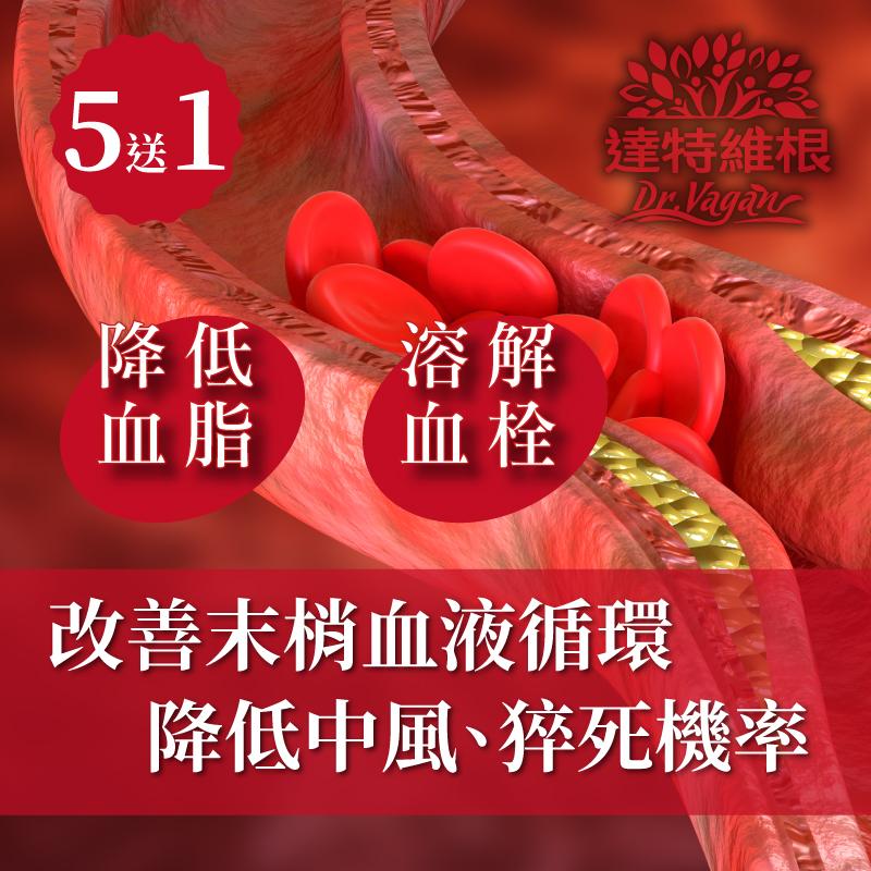 循速通健康膠囊(買5送1)